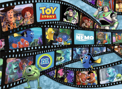 Pixar: Filmstrip Friends - 60pc Floor Puzzle By Ravensburger