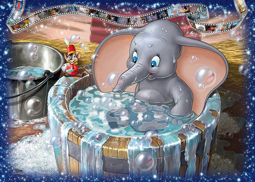 Disney: Dumbo - 1000pc Jigsaw Puzzle By Ravensburger