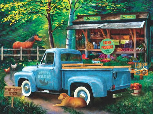 Woody's Farm Stand - 1000pc Jigsaw Puzzle By Sunsout