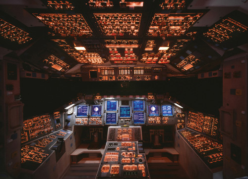 Eurographics Jigsaw Puzzles - Space Shuttle Cockpit