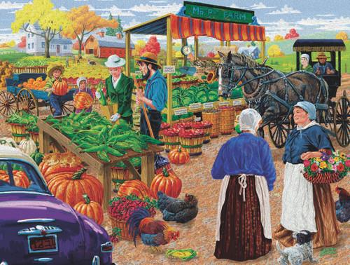 Mr. P's Farm Market - 500pc Jigsaw Puzzle By Sunsout
