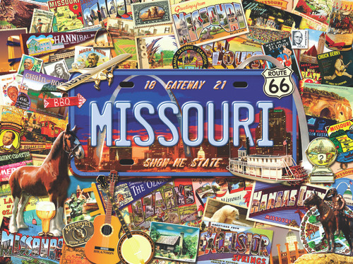 Missouri: The Show Me State - 1000pc Jigsaw Puzzle By Sunsout