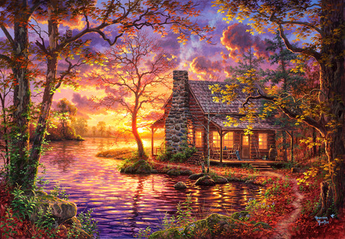 Hiding Place - 500pc Jigsaw Puzzle by Anatolian