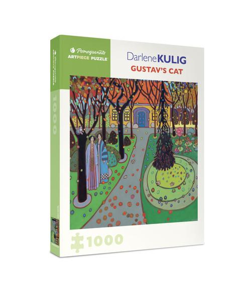 Kulig: Gustav's Cat - 1000pc Jigsaw Puzzle by Pomegranate