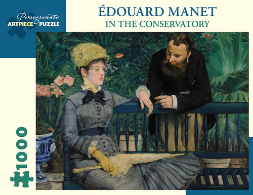 Manet: In the Conservatory - 1000pc Jigsaw Puzzle by Pomegranate