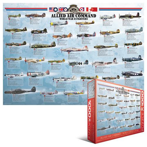 Eurographics Jigsaw Puzzles - World War II Fighters