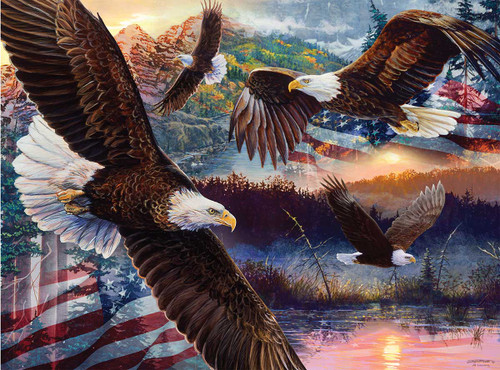 Land of Freedom - 1000pc Jigsaw Puzzle By Sunsout