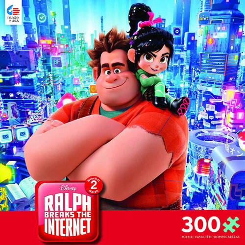 Disney: Ralph Breaks the Internet - 300pc Oversized Jigsaw Puzzle by Ceaco