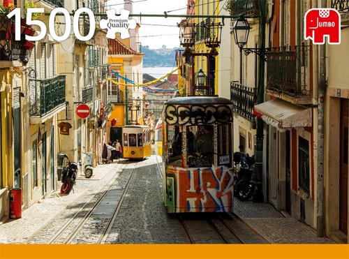 Lisbon, Portugal - 1500pc Jigsaw Puzzle By Jumbo