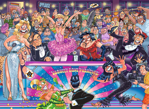 WASGIJ: Original 30, Strictly Can't Dance! - 1000pc Jigsaw Puzzle By Jumbo