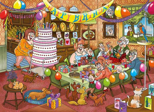 WASGIJ: Mystery 16, Birthday Surprise! - 1000pc Jigsaw Puzzle By Jumbo