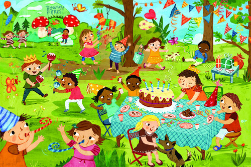 Birthday Party - 48pc Jigsaw Puzzle by Eurographics