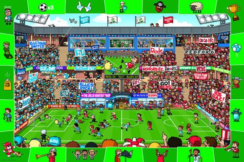 Soccer - 48pc Jigsaw Puzzle by Eurographics