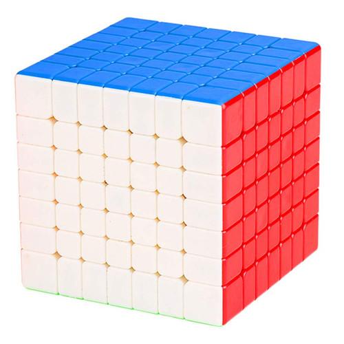 7x7x7 Stickerless Speed Cube by Moyu