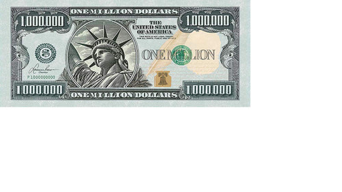 1 Million Dollars Puzzle - 550pc Panoramic Jigsaw Puzzle by Lafayette Puzzle Factory