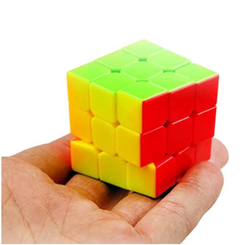 3x3x3 Mini-1.5 inch Stickerless Speed Cube by Cyclone Boys