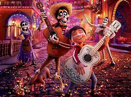 Disney: Coco - 300pc Oversized Jigsaw Puzzle by Ceaco