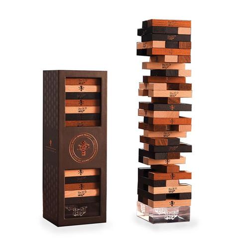 Jenga Pemium Hardwood - Stacking Game