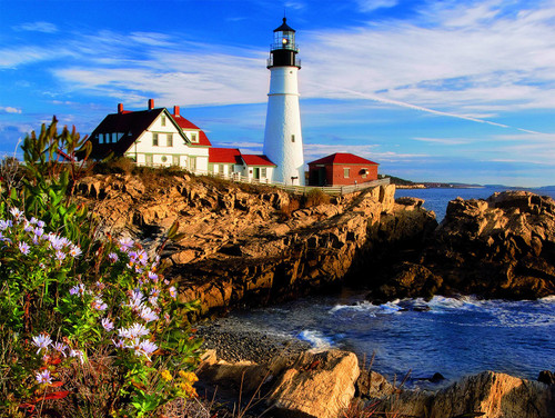 USA: Portland, ME - 550pc Jigsaw Puzzle by Ceaco