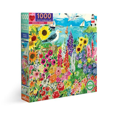 Seagull Garden - 1000pc Jigsaw Puzzle by eeBoo