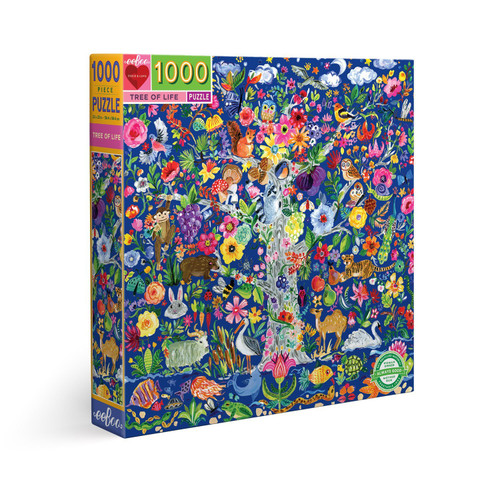 Tree of Life - 1000pc Square Jigsaw Puzzle by eeBoo