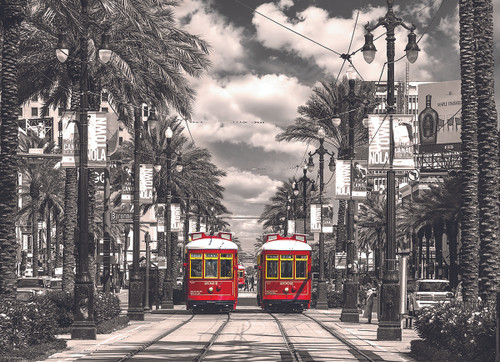 New Orleans Streetcars Jigsaw Puzzle