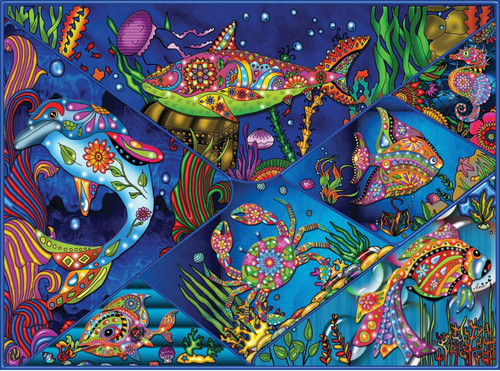 Tropical Ocean - 1000pc Jigsaw Puzzle by JaCaRou