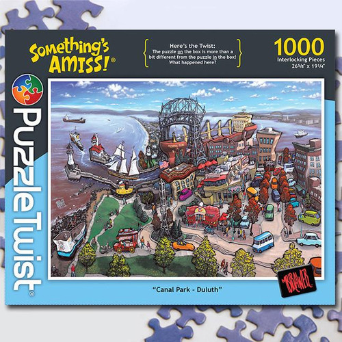 Canal Park, Duluth - 1000pc Jigsaw Puzzle by PuzzleTwist
