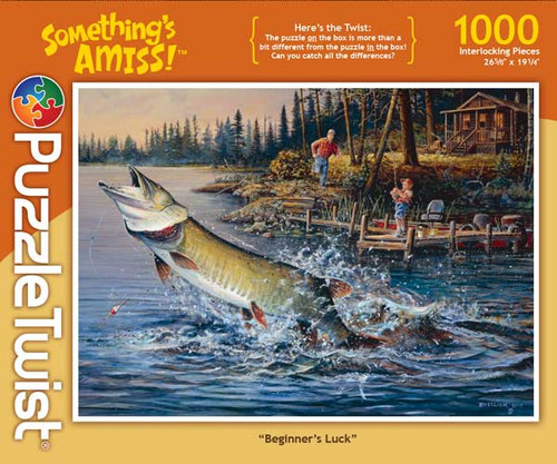 Beginner's Luck - 1000pc Jigsaw Puzzle by PuzzleTwist