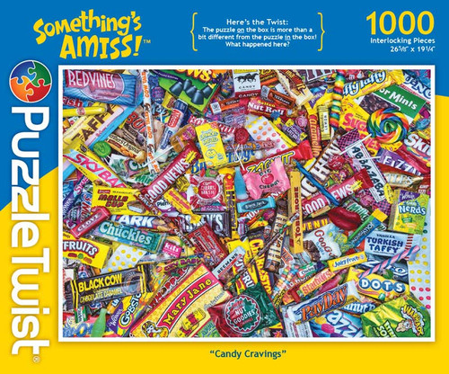 Candy Cravings - 1000pc Jigsaw Puzzle by PuzzleTwist