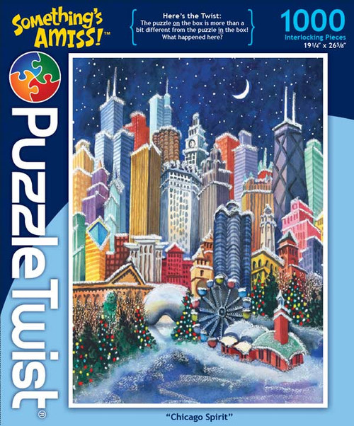 Chicago Spirit - 1000pc Jigsaw Puzzle by PuzzleTwist