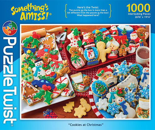 Cookies at Christmas - 1000pc Jigsaw Puzzle by PuzzleTwist