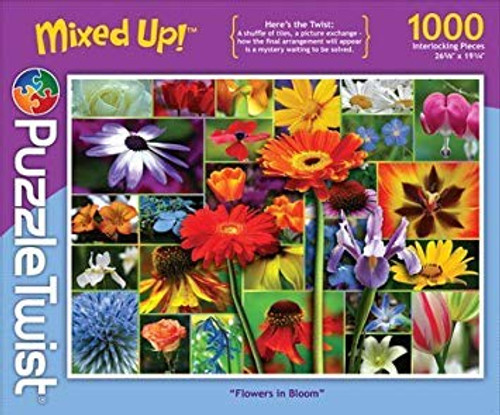 Flowers in Bloom - 1000pc Jigsaw Puzzle by PuzzleTwist