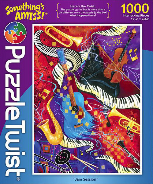 Jam Session - 1000pc Jigsaw Puzzle by PuzzleTwist