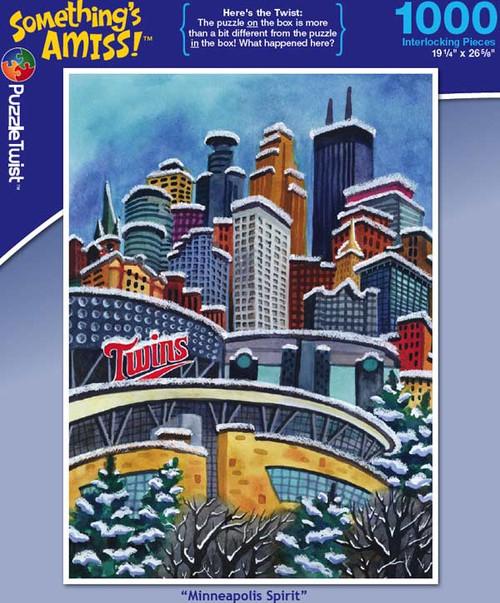 Minneapolis Spirit - 1000pc Jigsaw Puzzle by PuzzleTwist