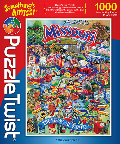 Missouri Spirit - 1000pc Jigsaw Puzzle by PuzzleTwist