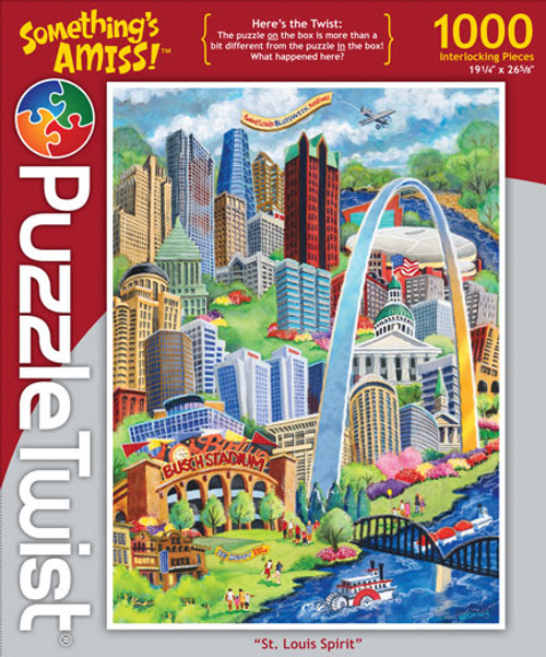 St. Louis Spirit - 1000pc Jigsaw Puzzle by PuzzleTwist