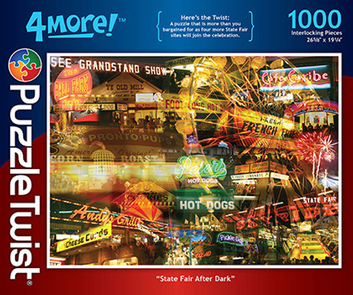 State Fair after Dark - 1000pc Jigsaw Puzzle by PuzzleTwist