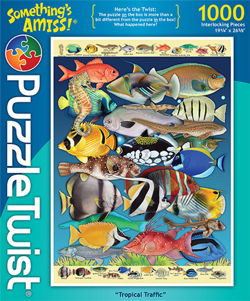 Tropical Traffic - 1000pc Jigsaw Puzzle by PuzzleTwist
