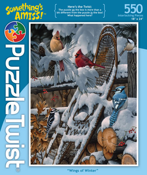 Wings of Winter - 550pc Jigsaw Puzzle by PuzzleTwist