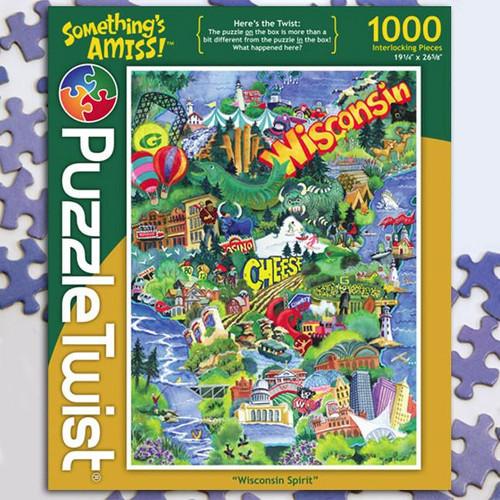 Wisconsin Spirit - 1000pc Jigsaw Puzzle by PuzzleTwist