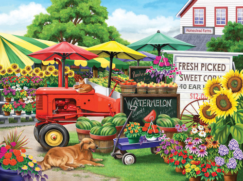 Farm Stand Bounty - 300pc Jigsaw Puzzle By Sunsout