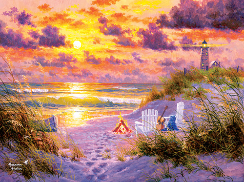Golden Tide - 1000pc Jigsaw Puzzle By Sunsout