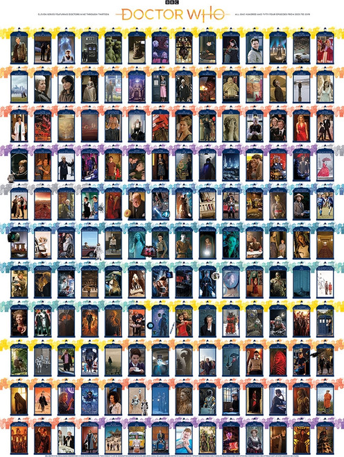 Doctor Who: Episode Guide - 1000pc Jigsaw Puzzle By Cobble Hill