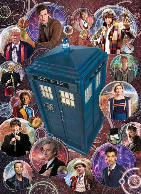Doctor Who: The Doctors - 1000pc Jigsaw Puzzle By Cobble Hill