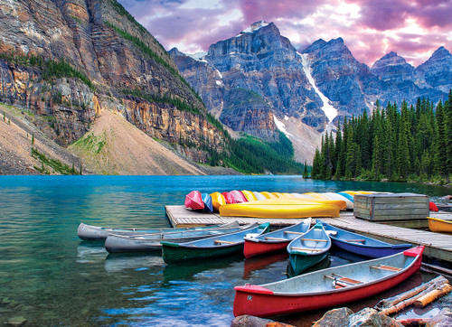 Eurographics Canoes on the Lake Jigsaw Puzzle