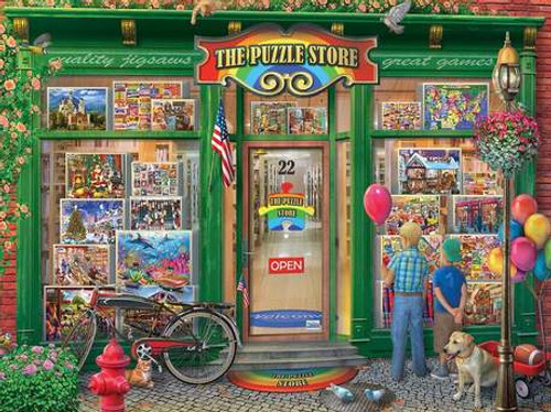 Puzzle Shop - 1000pc Jigsaw Puzzle By White Mountain