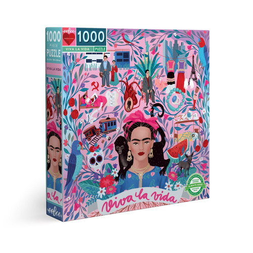 Viva la Vida - 1000pc Square Jigsaw Puzzle by eeBoo