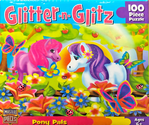 Pony Pals - 100pc Jigsaw Puzzle by Masterpieces