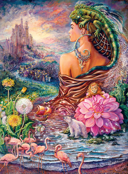 Josephine Wall: The Untold Story - 1000pc Jigsaw Puzzle By Buffalo Games